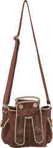 Minidirndl tasche donker bruin