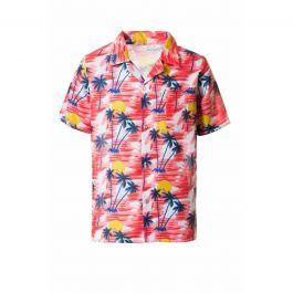 Hawai Shirt Red - 2XL