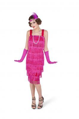 Pink Flapper Dress - XL