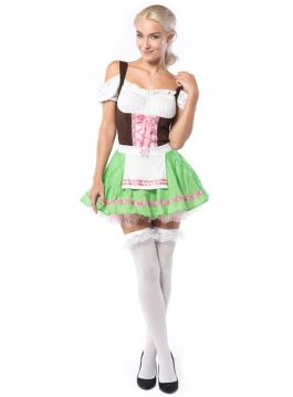 Oktoberfest Dress Beer Garden Beauty - L