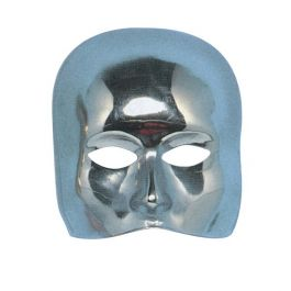 Face mask silver
