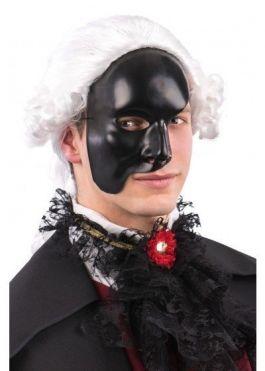 Half face mask Black