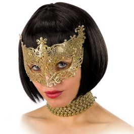 Mask with gold glitter in pbh
