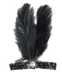 Black Charleston Diadem