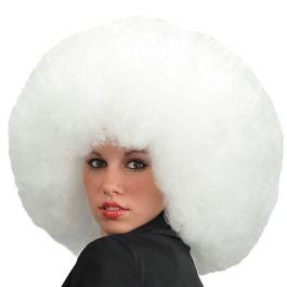 Afro wig white
