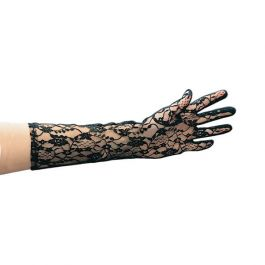 Black lace gloves in pbh