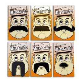 Moustache with card