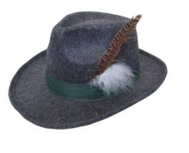 Bayern Hat Deluxe Grey