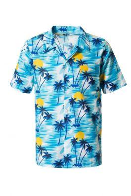 Hawai Shirt Blue - S/M