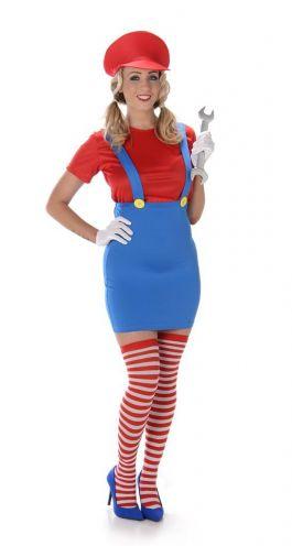 Red Girl Plumbers - L