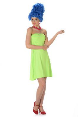 Blue Beehive Girl - L