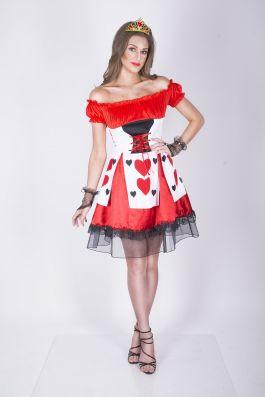 Flirty Queen Of Hearts - XS