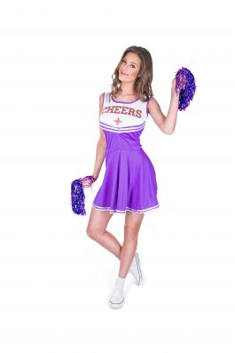 Purple Cheer Leader - L