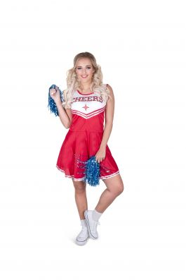 Red Cheer Leader - M