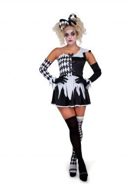 Evil Harlequin Girl - L