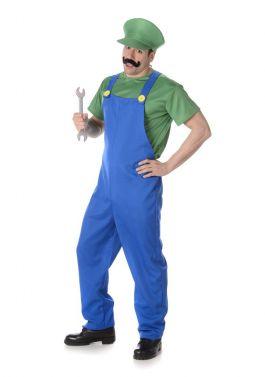 Boy Plumber Green - L