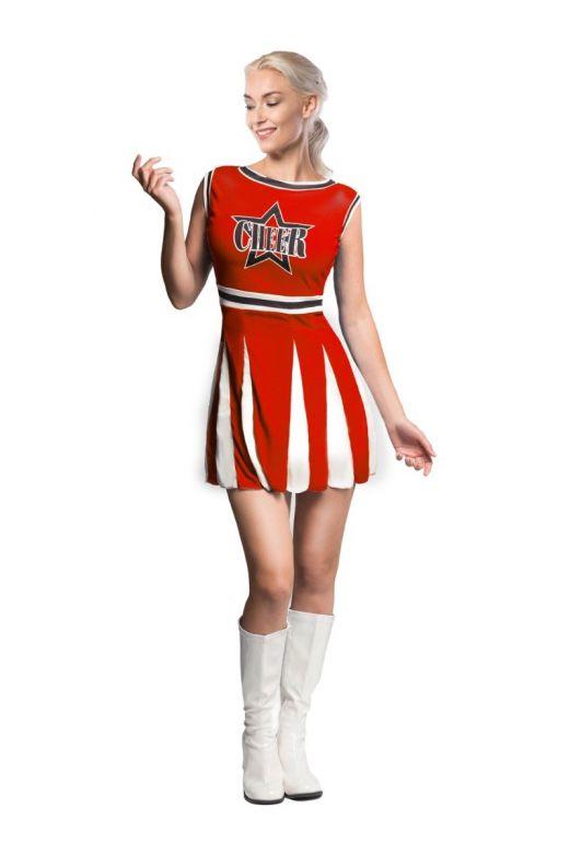 Cheerleader Red Star