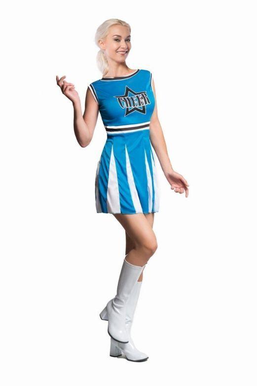 Cheerleader Blue Star