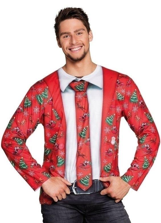 St. Fotorealistisch shirt Fancy Christmas / XL