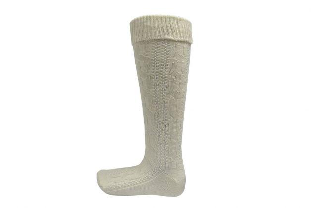 Oktoberfest Knee Socks Deluxe Off-White - 43/46