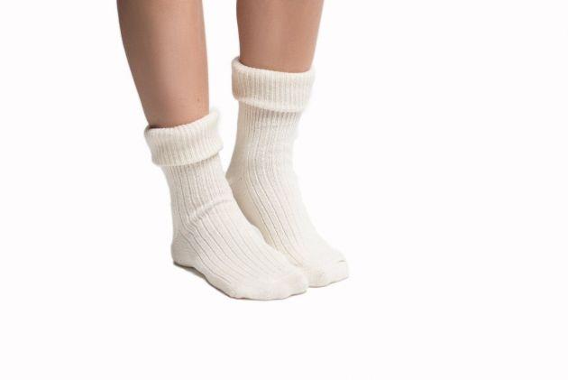 Oktoberfest Socks Ladies Off-White
