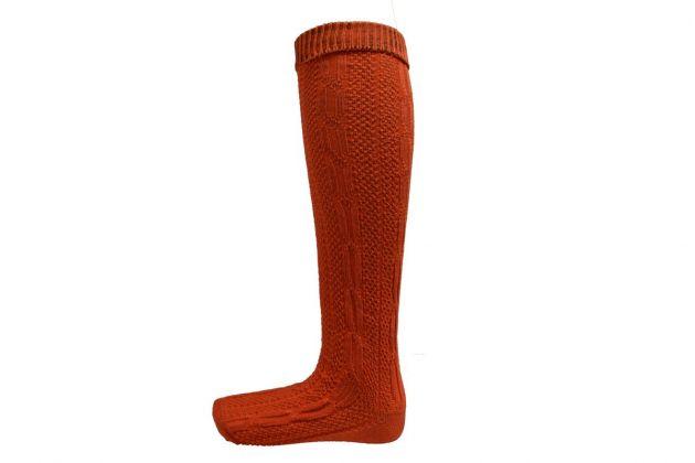 Oktoberfest Knee Socks Deluxe Red  - 39/42