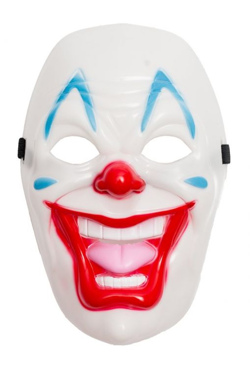Clown Mask 2 Pvc