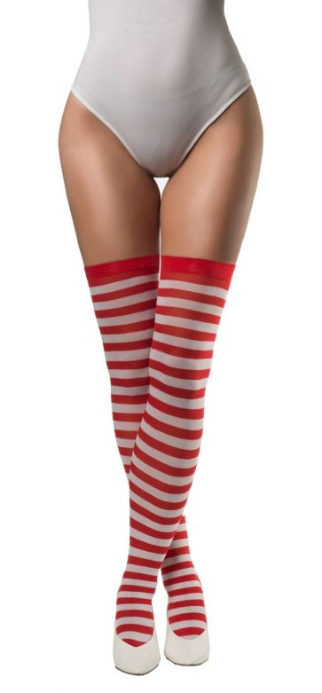 Stockings Red/White