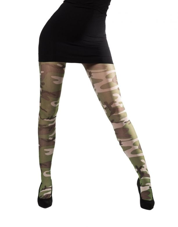 Tights Camouflage