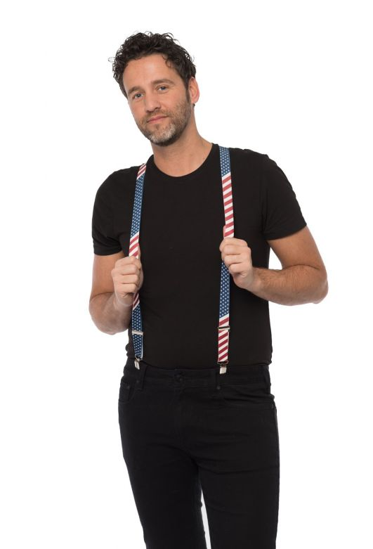 Suspenders USA - Width 2,5 cm