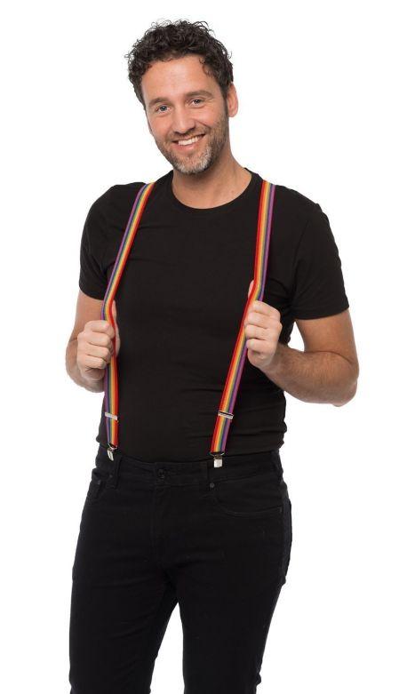 Suspenders Rainbow - Width 2,5 cm
