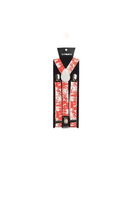 Suspenders Blood - Width 2,5 cm