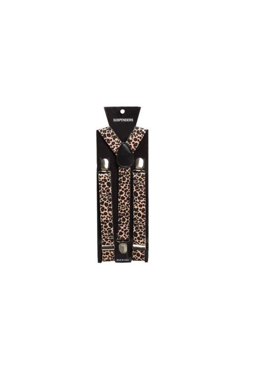 Suspenders Leopard - Width 2,5 cm