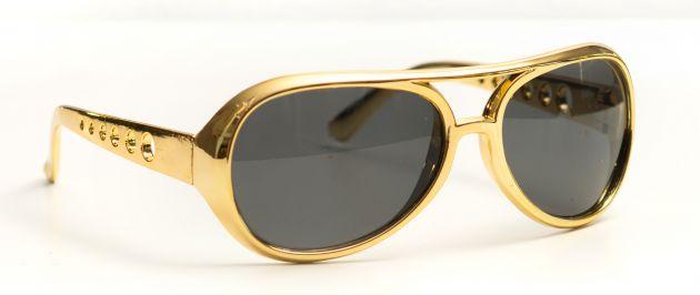 Elvis Glasses Gold