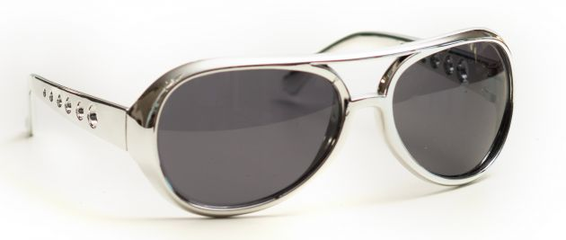 Elvis Glasses Silver
