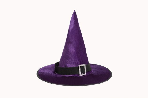 Witch Hat Velours Purple
