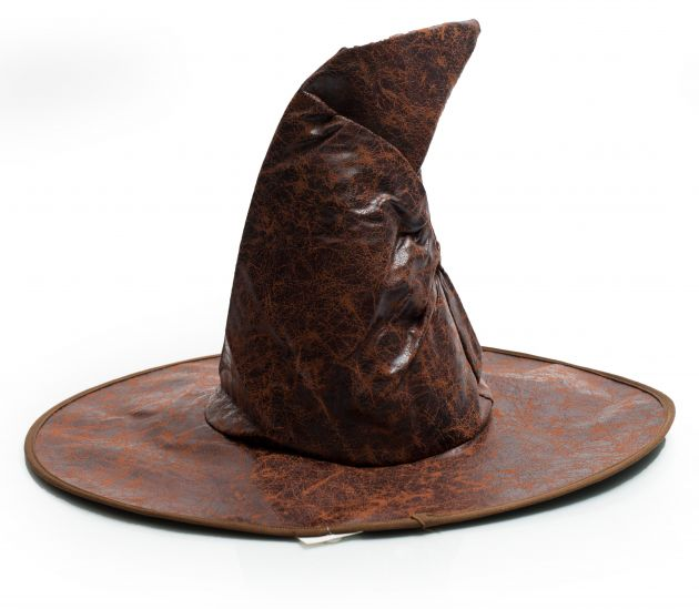 Witch Hat Leatherlook Brown