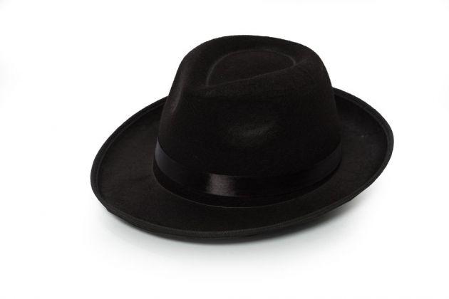 Gangster Hat Black Basic
