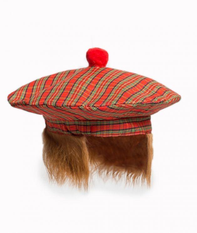 Scottish Baret with Hair