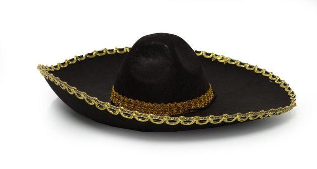 Sombrero Black/Gold