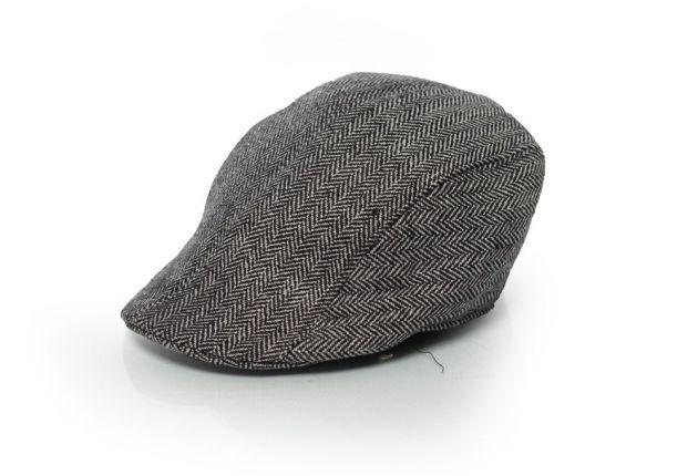 Twenties Cap Deluxe Grey