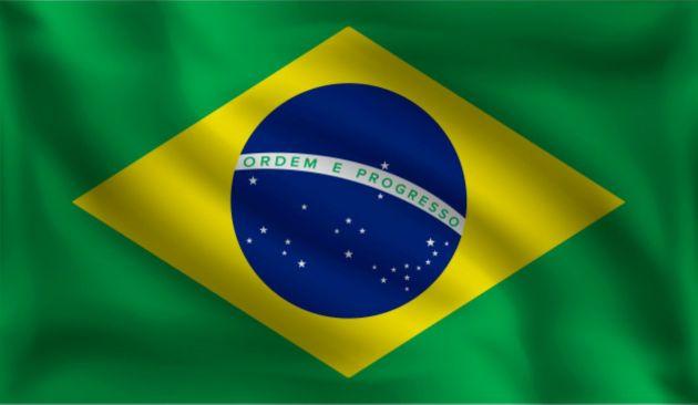 Country Flag Brasil 90 x 150 cm