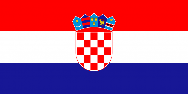 Country Flag Croatia 90 x 150 cm