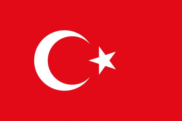Country Flag Turkey 90 x 150 cm