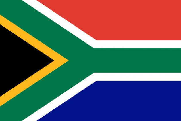 Country Flag South Africa 90 x 150 cm