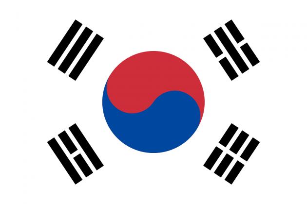 Country Flag South Korea 90 x 150 cm