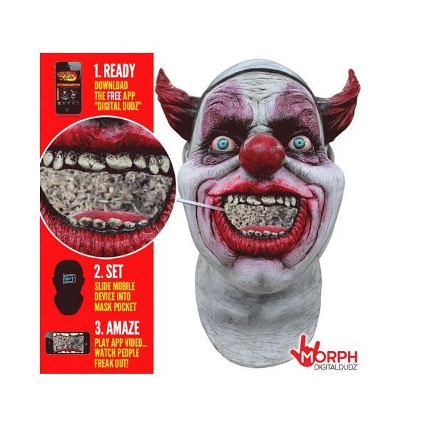 Headmask - Maggot Clown Mouth