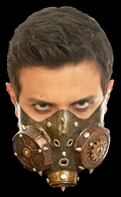 Face Mask - Steampunk Muzzle