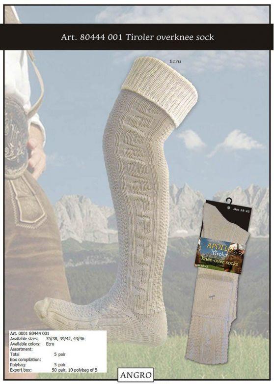 Tiroler Knee-Over X-Long Ecru