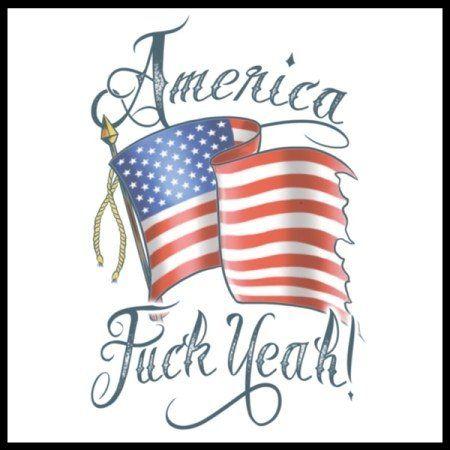 America F@#k Yeah Tattoo